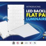 Backlit Flat Panel