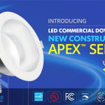 LED Commercial Down Light New Construction / Retrofit APEX™ Series