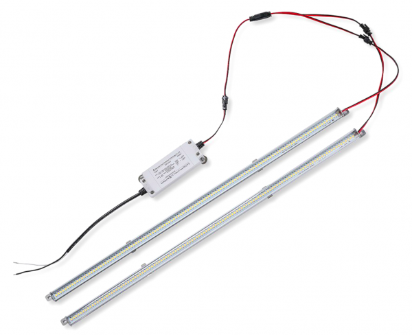 Magnetic LED Troffer Retrofit Strip Kits
